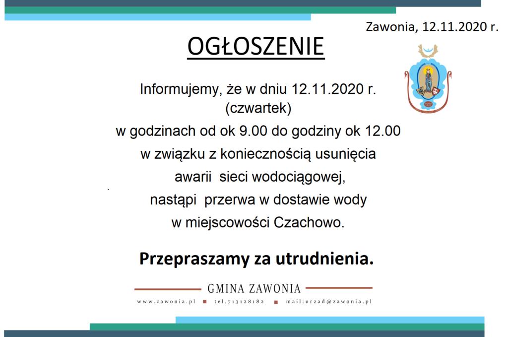 Awaria sieci wodociągowej w miejscowości Czachowo w dniu 12.11.2020 r. w godzinach od 9..00 do 12.00.png