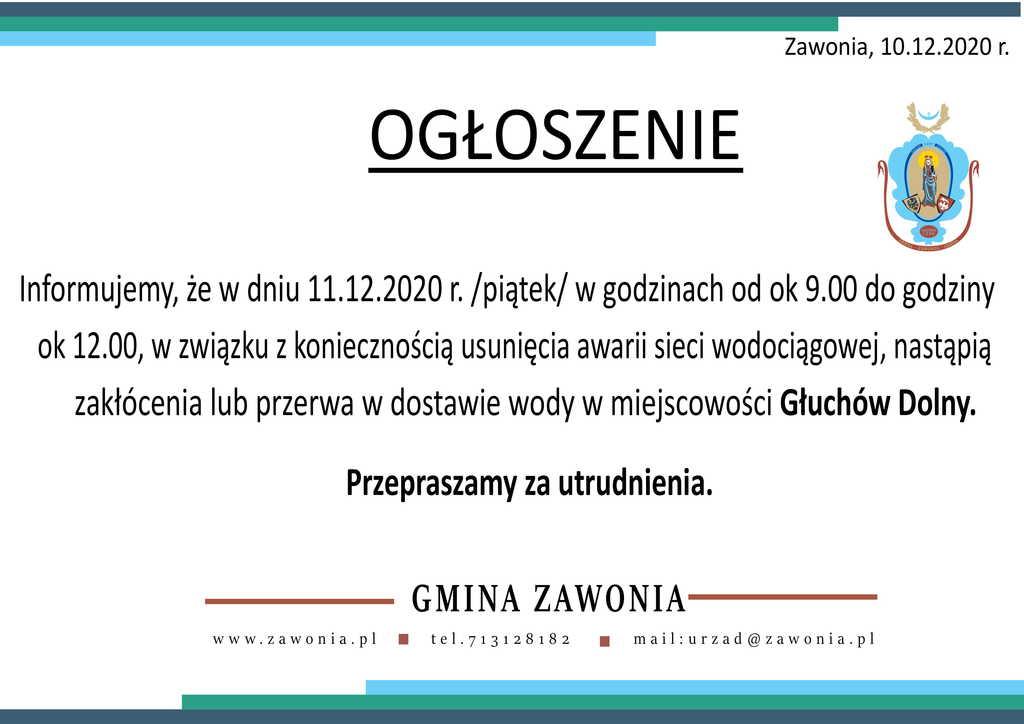 Awaria sieci wodociągowej Głuchów Dolny-1.jpeg