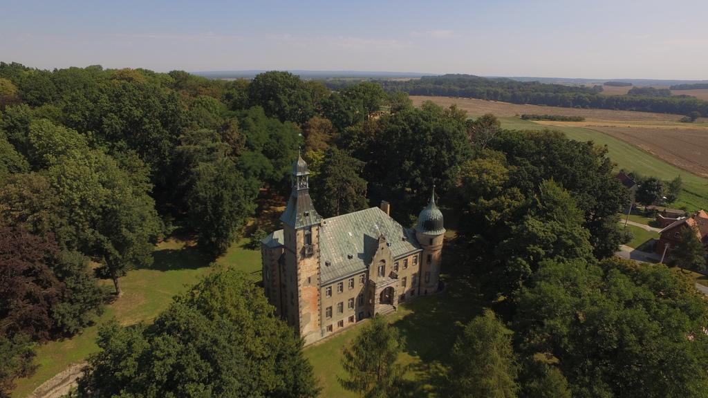 Widok na pałac znajdujący się w miejscowości Czachowo