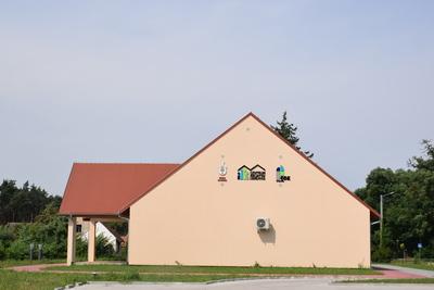 Na zdjęciu widać Centrum Inicjatyw Lokalnych - świetlice wiejską w miejscowości: Czeszów
