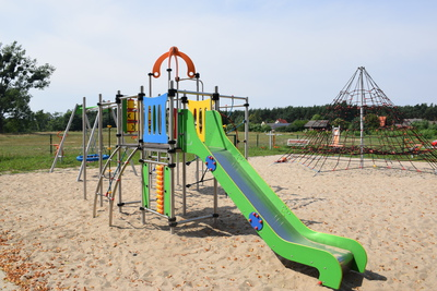 Na zdjęciu widać plac zabaw miejscowości: Czeszów