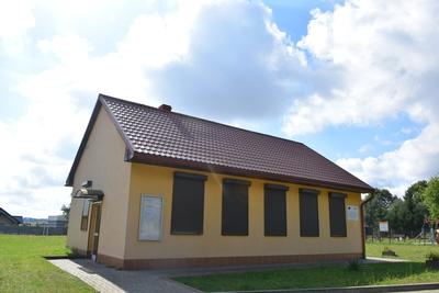 Na zdjęciu widać świetlicę wiejską w miejscowości: Kałowice