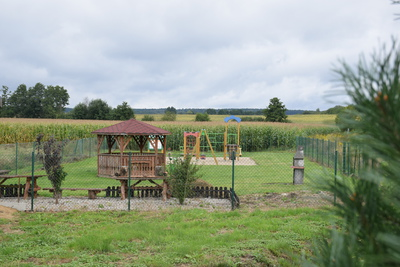 Na zdjęciu widać plac zabaw w miejscowości: Prawocice