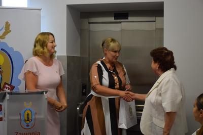 Galeria Oficjalne otwarcie Gminnego Ośrodka Pomocy Spolecznej w Zawoni