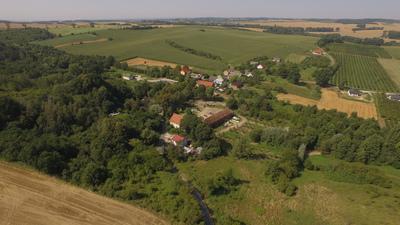 Widok na miejscowość Radłów