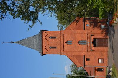 Zdjęcie przestawia kościół w Czeszowie